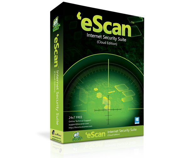 eScan Internet Security antywirus